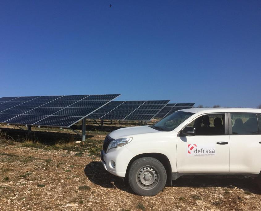 Planta fotovoltaica en Francia